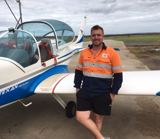 First Solo – Brad Rundle