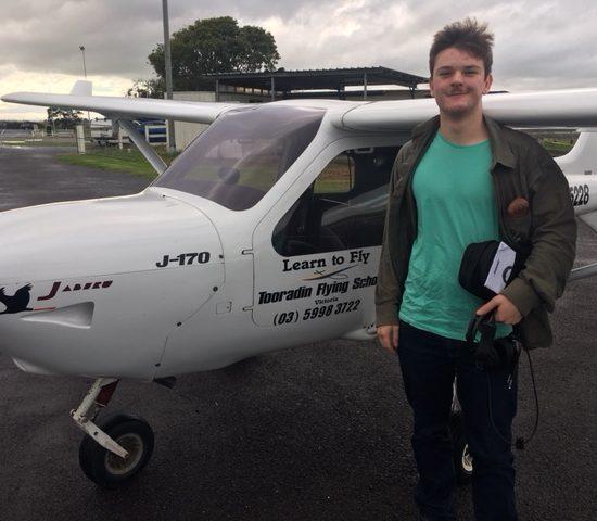 Vaughn Dennis -New Pilot