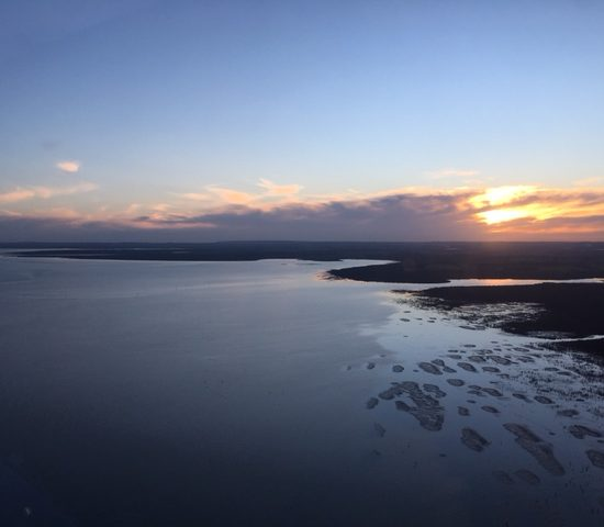Winter Sunset over Westernport Bay