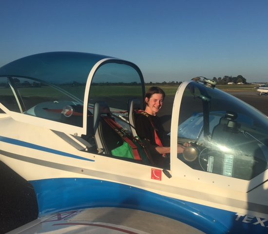 Lachlan McLeod – First Solo
