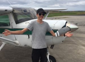 Francis Keath – First Solo on 15th Birthday