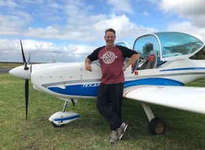 Glenn Scoble – First Solo