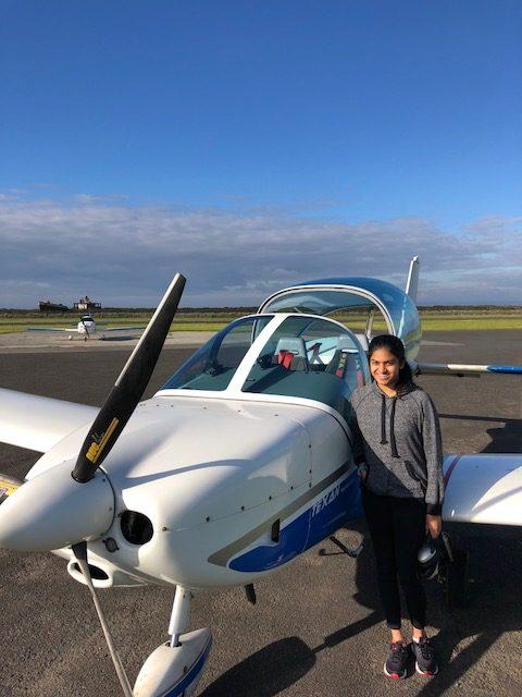 Snivedhitha Ilango – Pilot Certificate