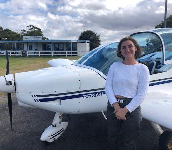 Sigrid Mossin – New Pilot