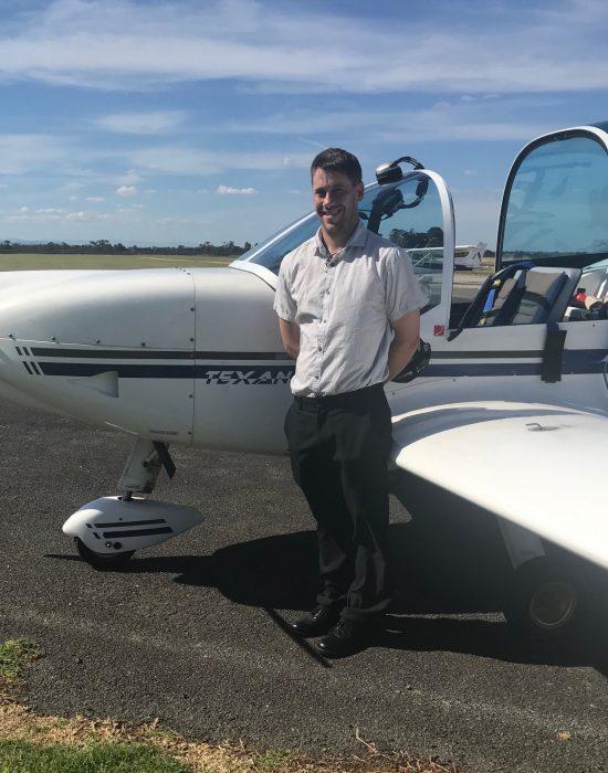 New Pilot – Chris McPherson