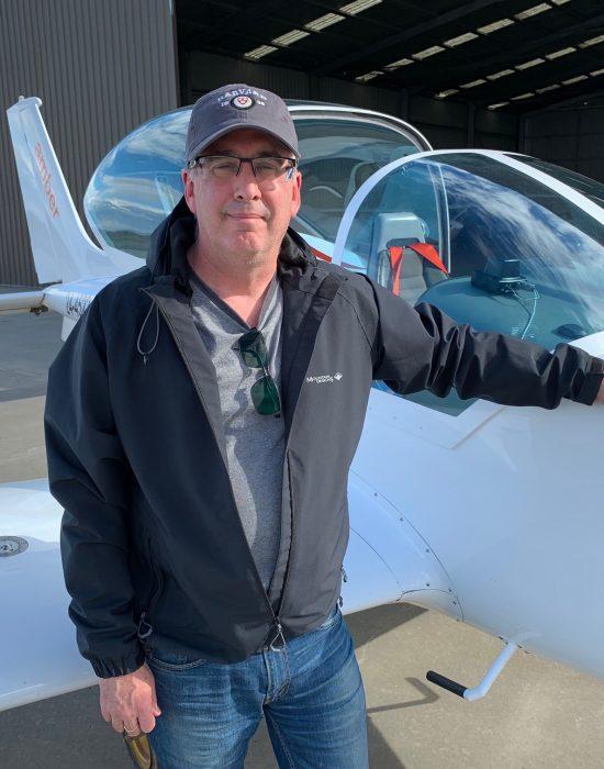 Mark Rizzacasa – New Pilot