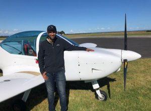 Pilot Certificate – Vinod (Vinny) Tiwari